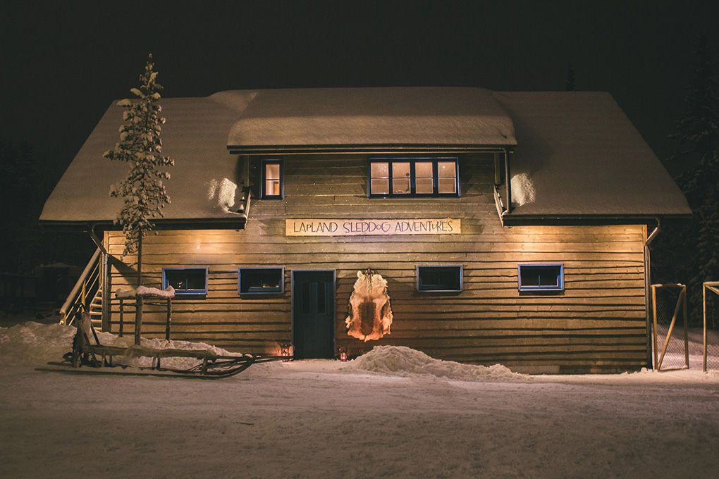Lapland Sleddog Adventures guest lodge